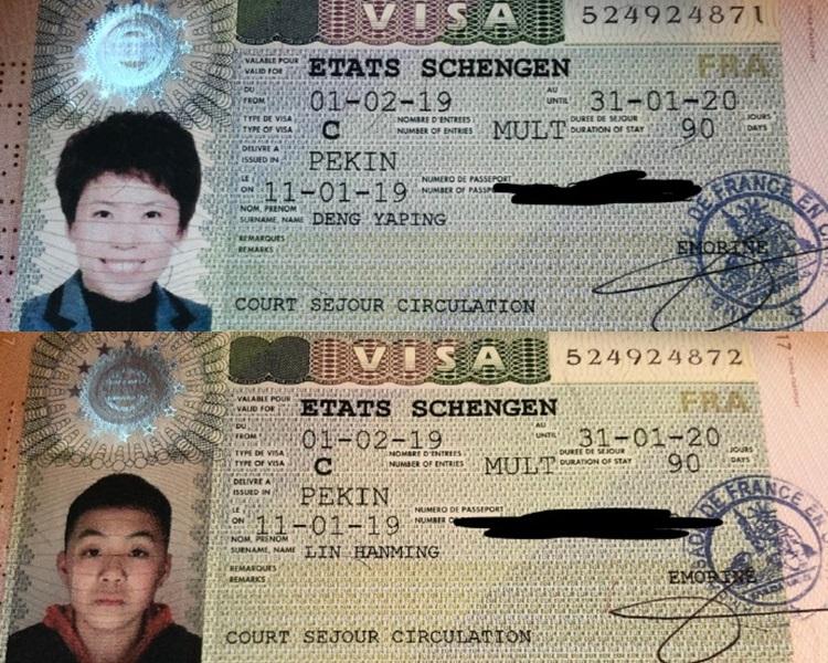 邓亚萍证明自己跟儿子都是中国籍。邓亚萍微博图片