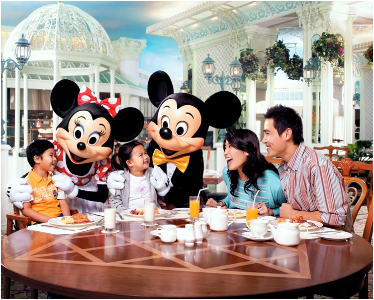 迪士尼度假區酒店入住率增加6%,達75%。