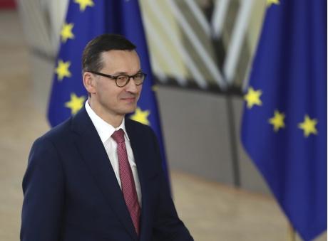 波兰总理莫拉维茨奇。
