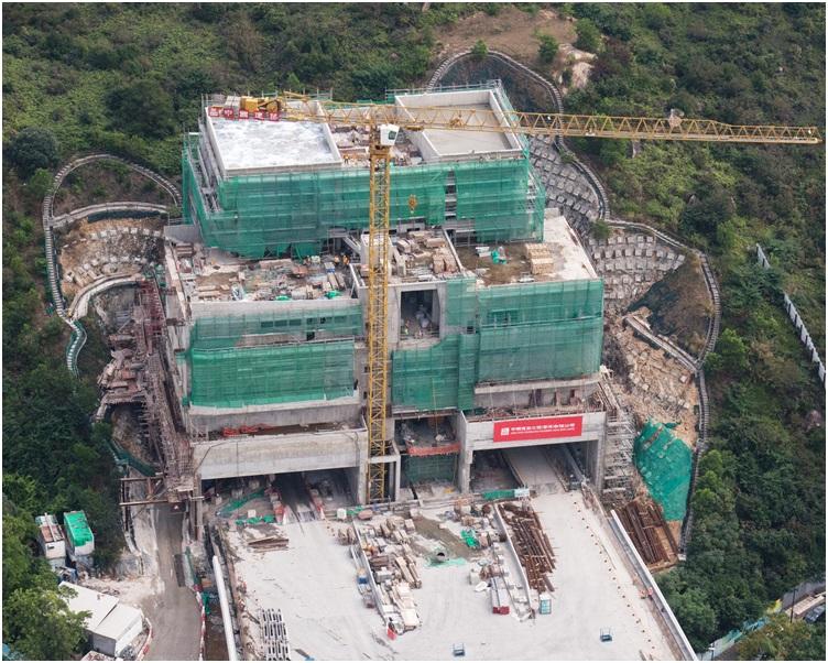 有消息爆出大橋工程疑有人不按原圖則施工。