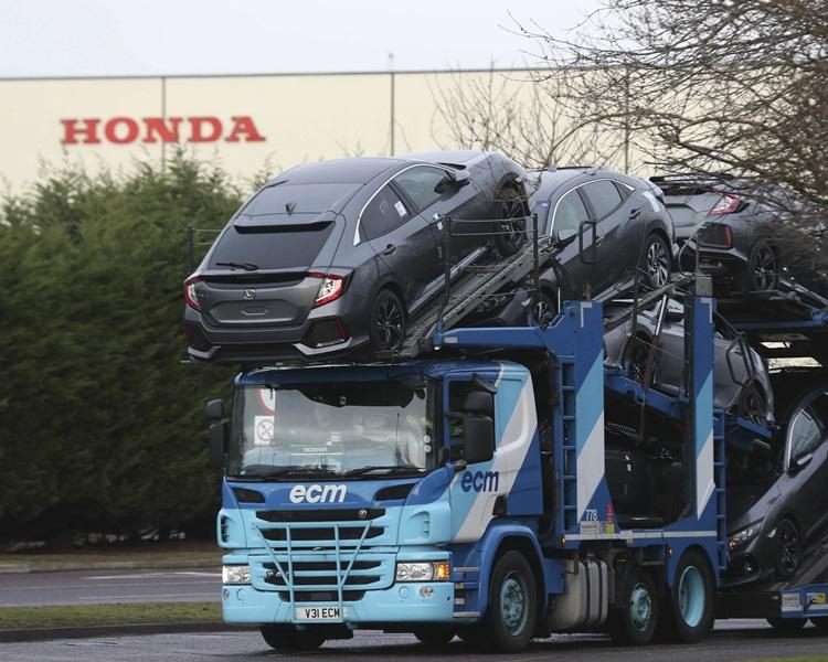 本田在英格兰西南部斯温登的厂房。
