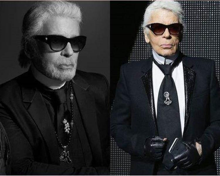 老佛爺傳逝世,享年85歲。Karl Lagerfeld IG