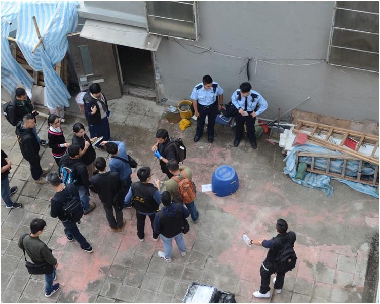 重案組警員到場接手調查。歐陽偉光攝