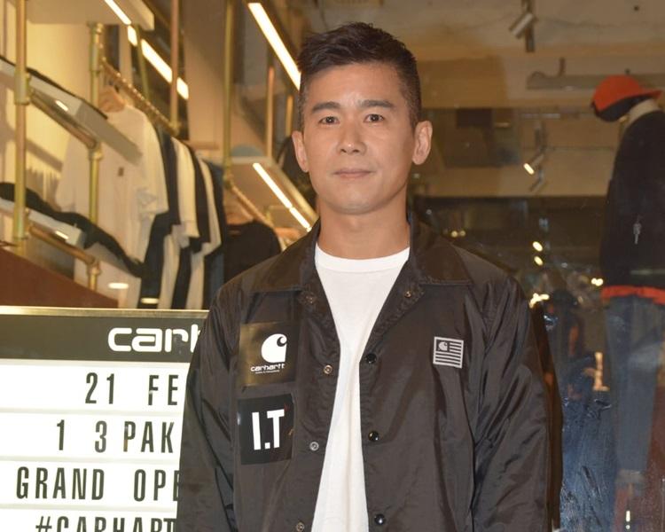 林海峰重遊白沙道憶起時裝店往事。