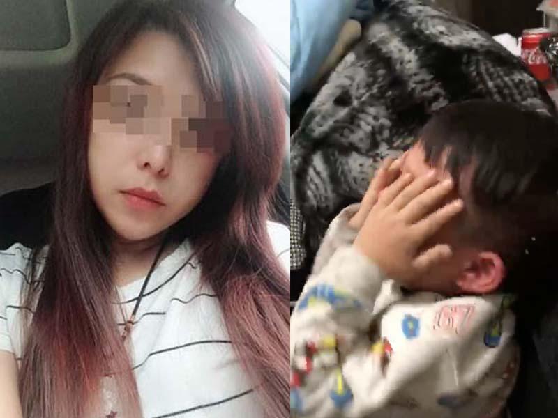 台湾新北芦洲传虐儿案,疑丈夫出轨家暴虐妻引起。