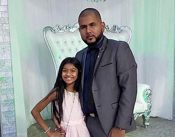 男子拉伊库马与前度女友所生的女儿里亚。网图