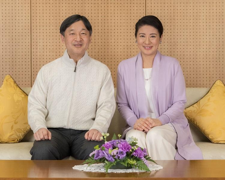 德仁与雅子昨日出席庆祝生日活动。