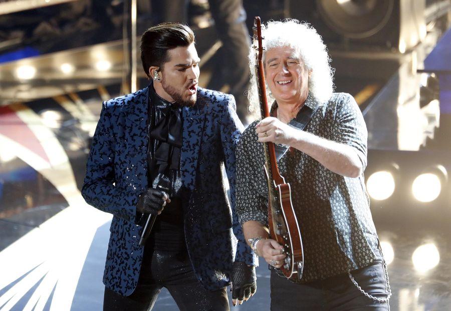 傳奇樂隊QUEEN及歌手Adam Lambert為典禮揭開序幕。