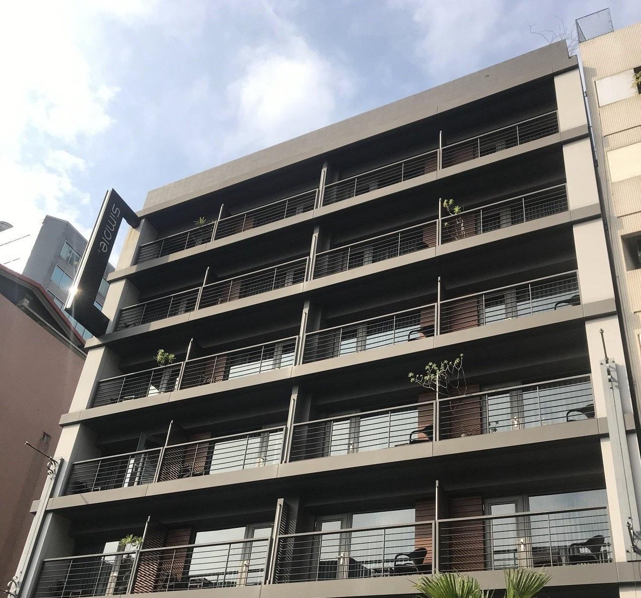 74岁老妇与38岁儿子倒毙台北市松山区一家商务酒店。网上图片