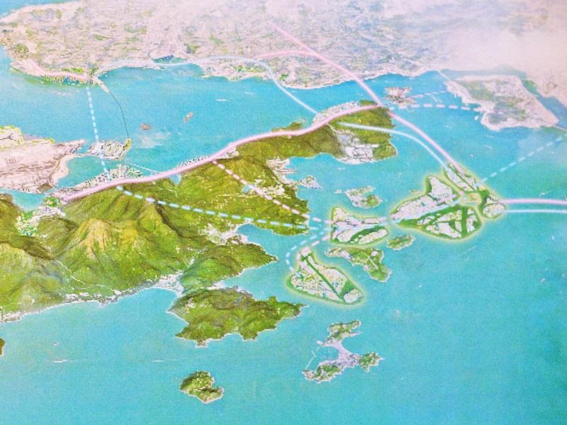政府破例先估算「明日大嶼」成本效益。資料圖片