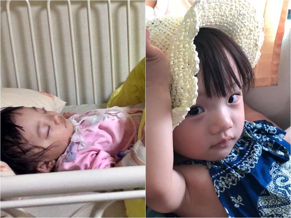 2岁的钱钱病发短时间内离世,其母亲发文希望不再有遗憾事情发生。网图