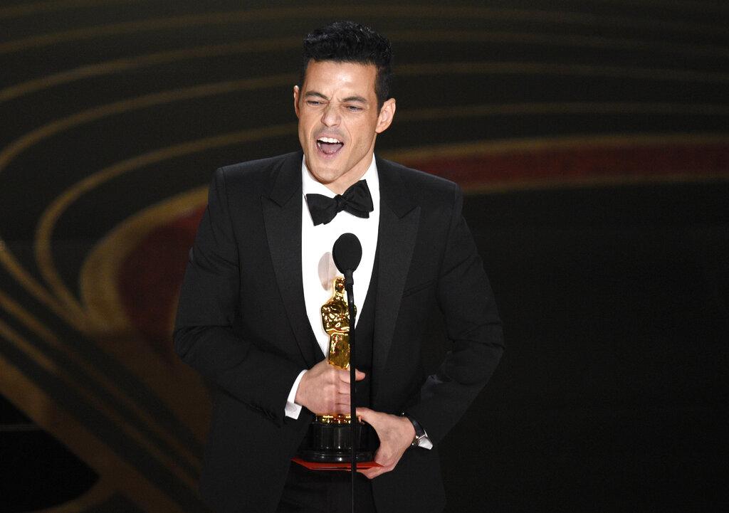 《波希米亞狂想曲:搖滾傳說》 雷米馬利克(Rami Malek) 奪得影帝。AP