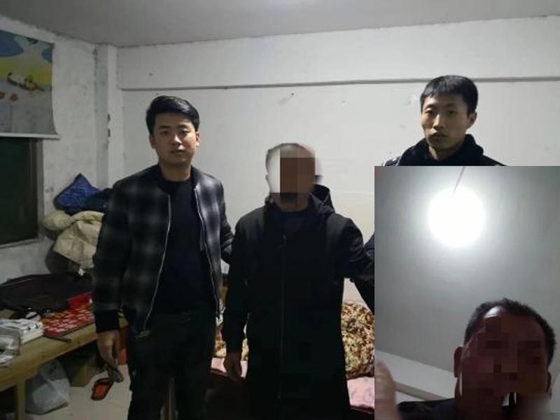 手机小偷扒走手机后,企图解锁时被拍大头照,因而落网。