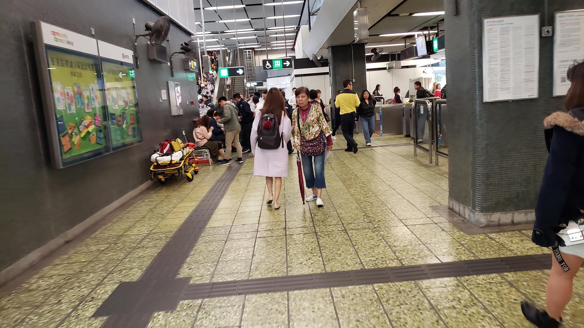 香港突發事故報料區FB/網民Kenneth Sin圖