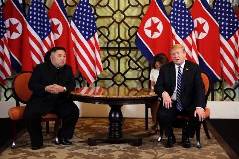 美国总统特朗普和北韩领袖金正恩正在越南河内进行第二次「特金会」。