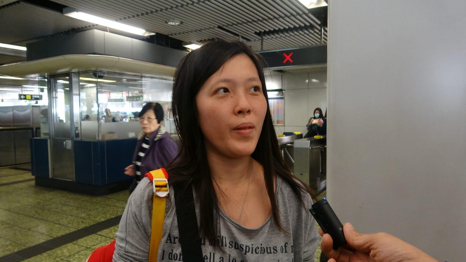乘客連小姐就稱今次意外只是個別事件,她不擔心使用扶手電梯。