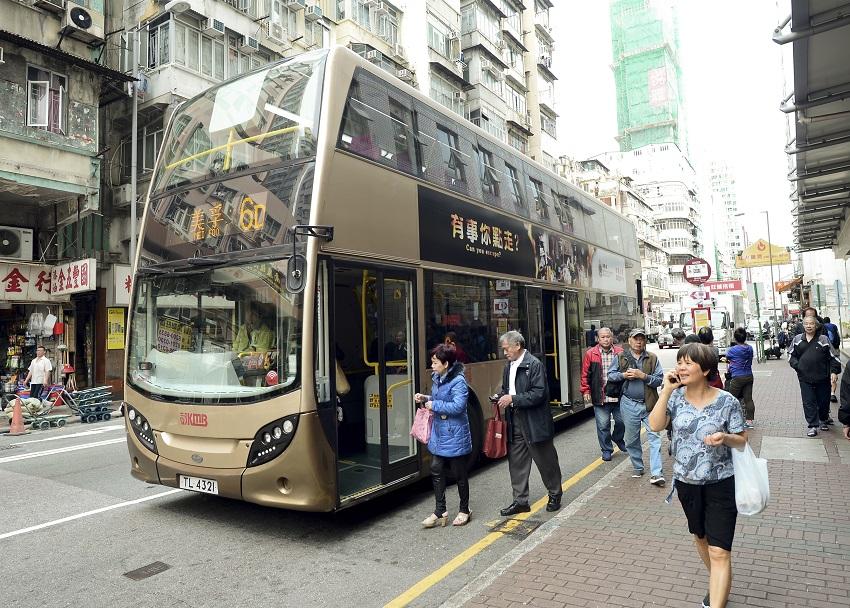 工會要求3間巴士公司加薪不少於10%。資料圖片