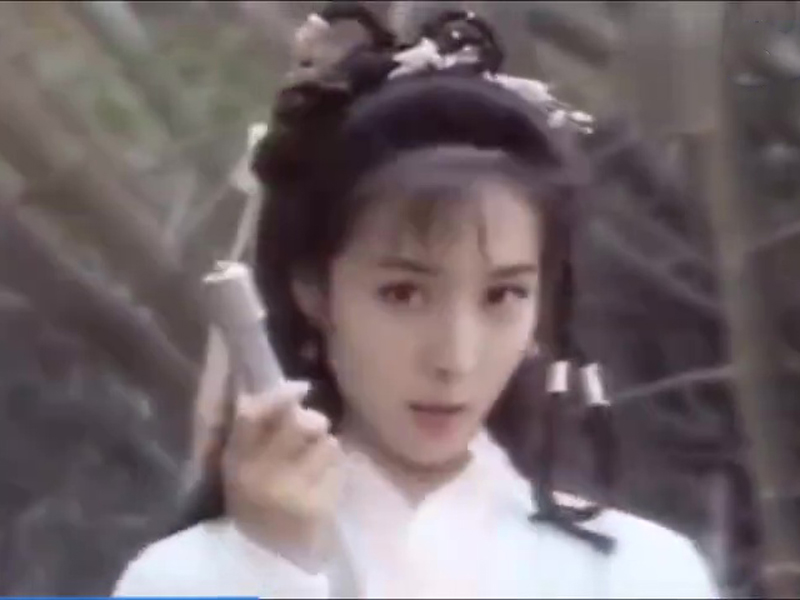 朱茵版「黄蓉」被换上了杨幂的脸。