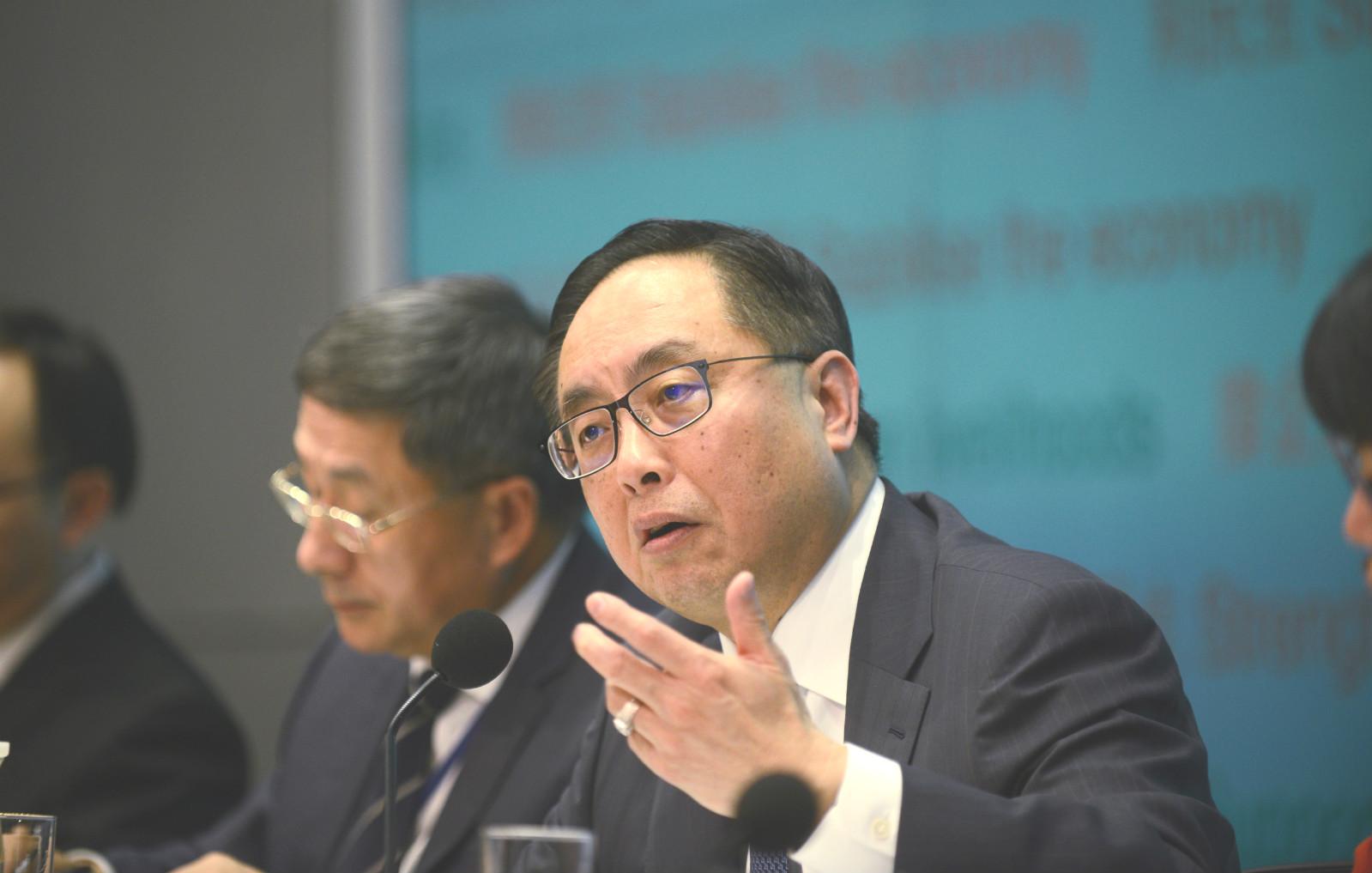 創新及科技局局長楊偉雄。資料圖片