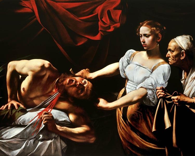 400年前的名画《砍下荷罗孚尼头颅的犹滴》(Judith Beheading Holofernes)。网图