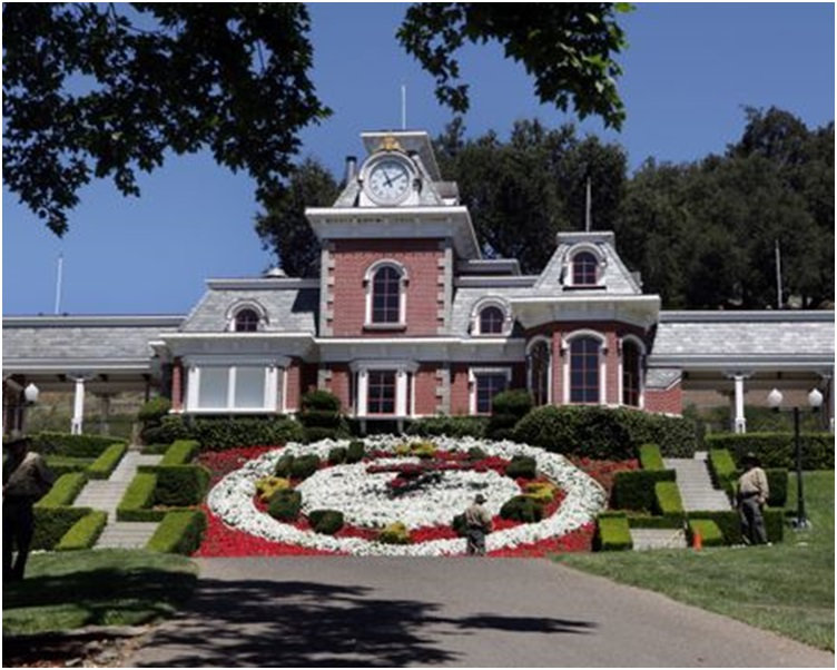 米高积逊的「梦幻乐园」再度在市场上放售。AP
