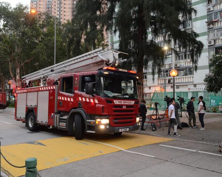 消防趕到撲救。