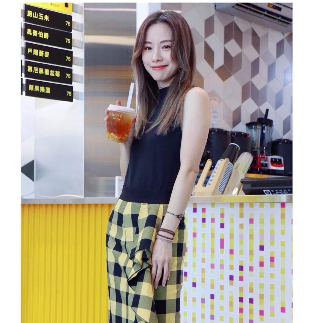 鄧麗欣在台灣開美顏飲品店,靈感來自注重皮膚的男友。