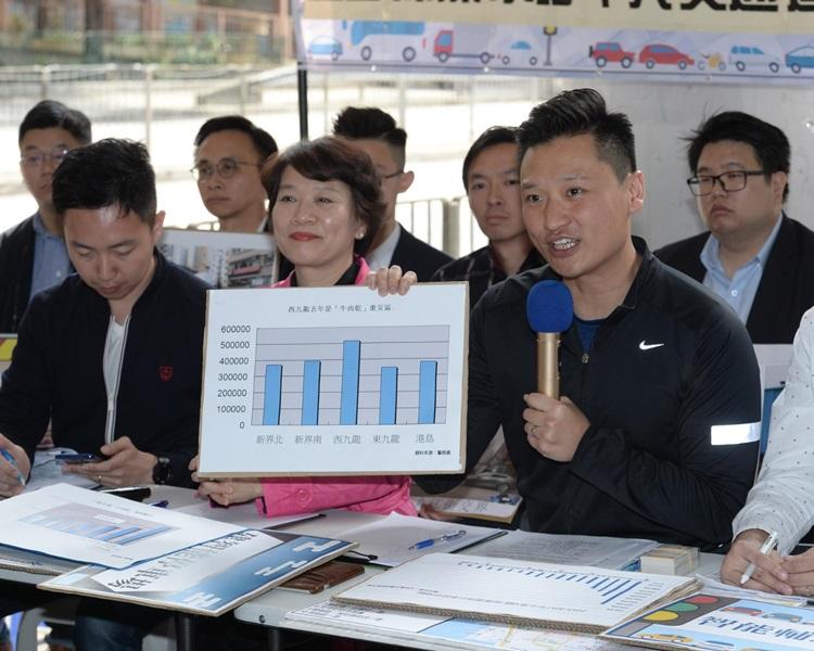 聯盟指西九龍警區發出的「牛肉乾」是全港之冠。