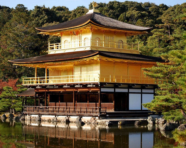 近年大量外国旅客涌入京都。网图