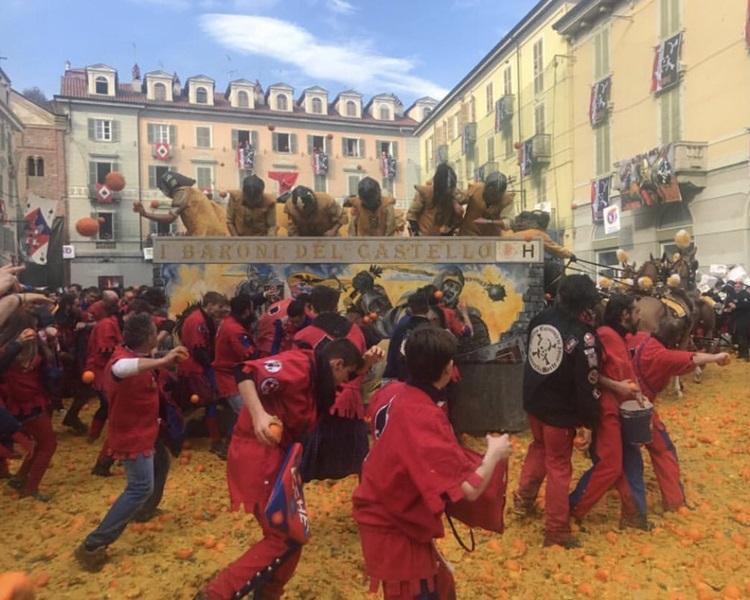 年度意大利「香橙大戰」開鑼。Twitter