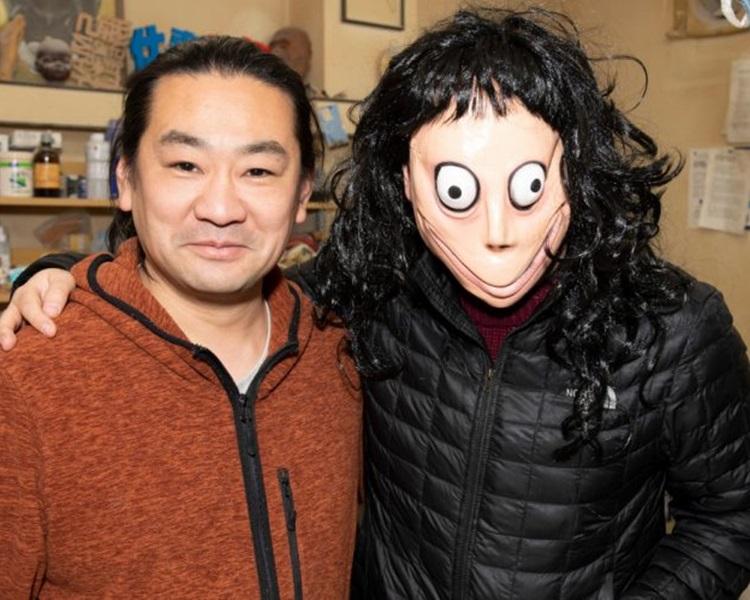 「Momo」創造者Keisuke Aiso(左)。網圖