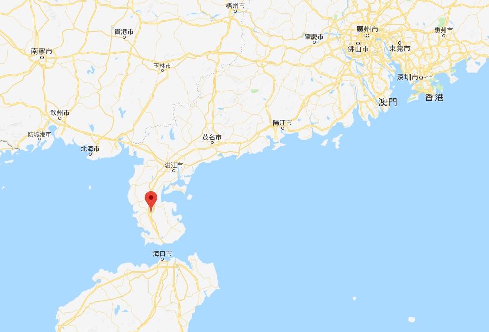 廣東湛江發生3.6級地震。網上圖片