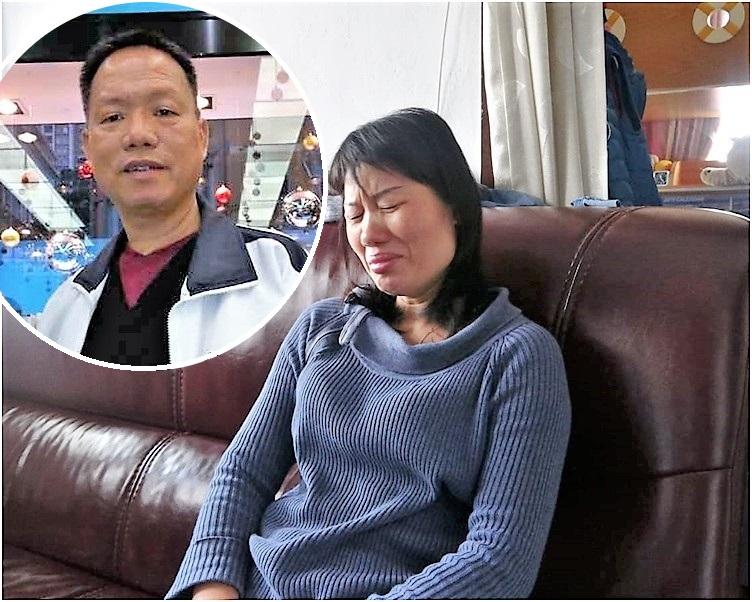 說到傷心處蘇妻更哭成淚人。林思明攝