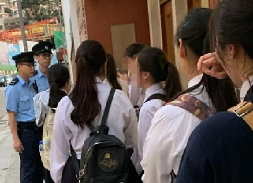 聖保祿中學日前報警驅趕學生引發風波。