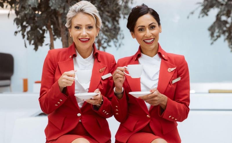 英国维珍航空推「重大改革」,取消化妆裙装规定。(网图)