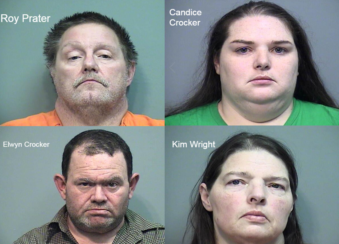 涉嫌虐待的家人。网上图片