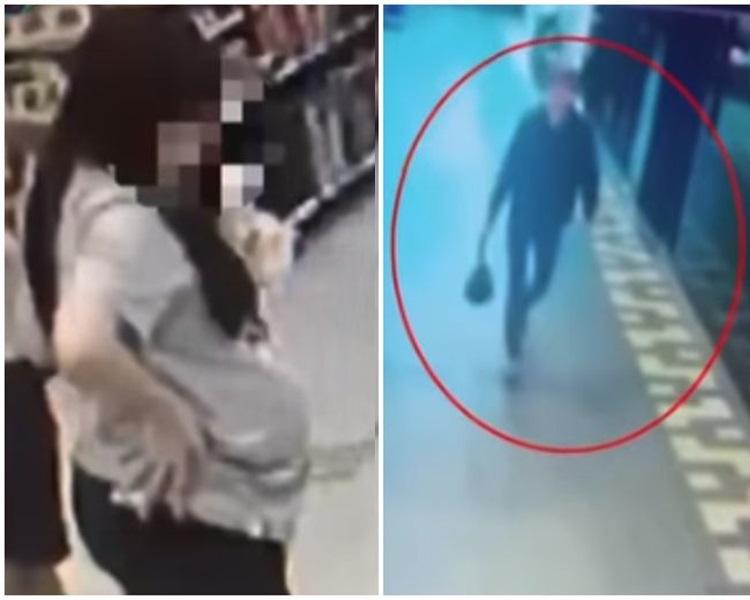 懷疑在台灣棄嬰的新加坡情侶。網圖