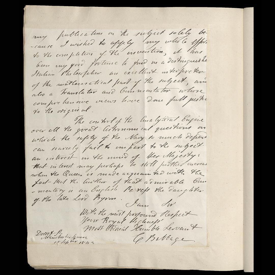 她分享博物馆展出的一封19世纪的书信,收件人是她的曾曾祖父。the royal family instagram