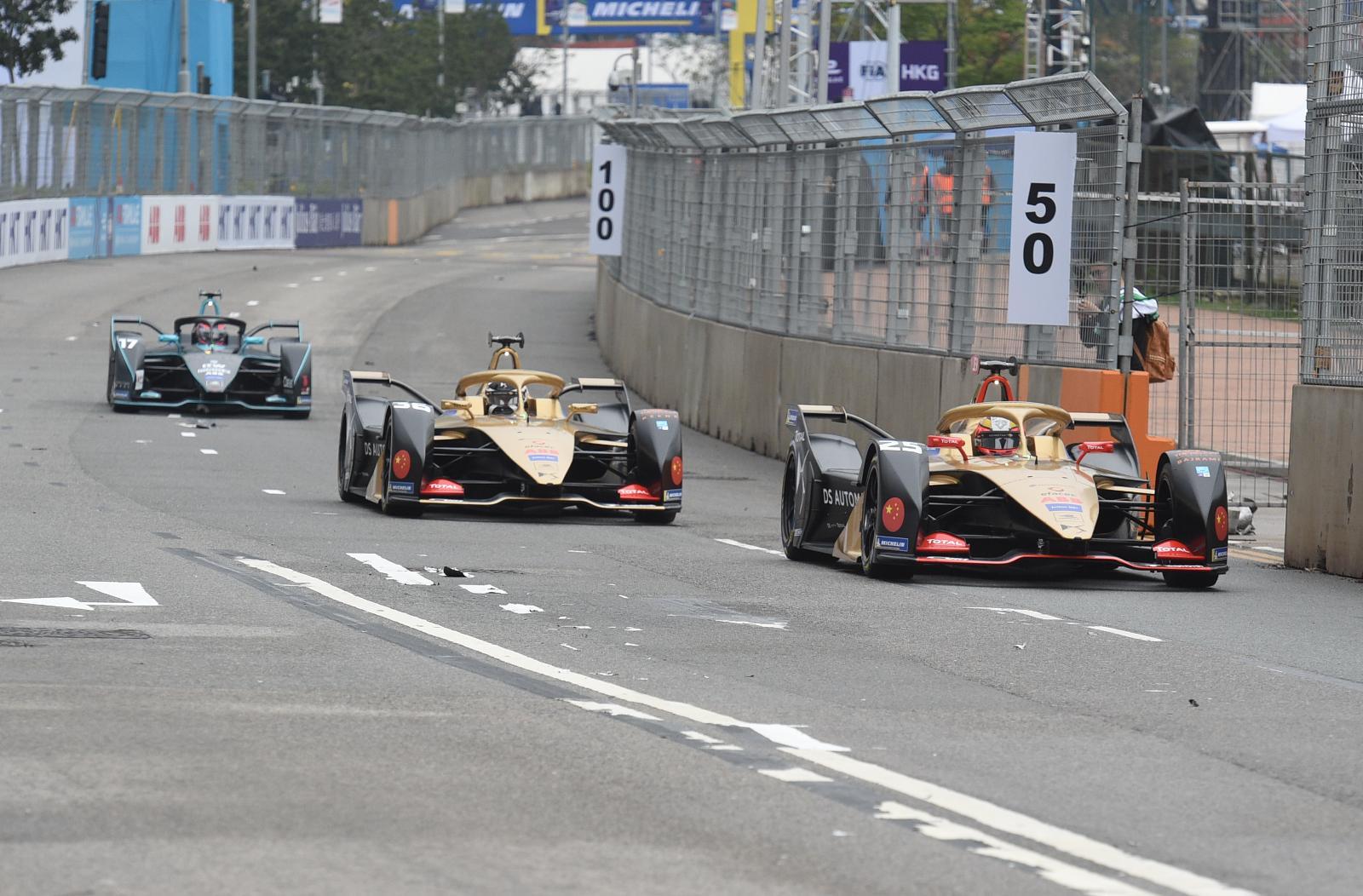 第5屆電動方程式(Formula E)香港站將於周日在中環舉行
