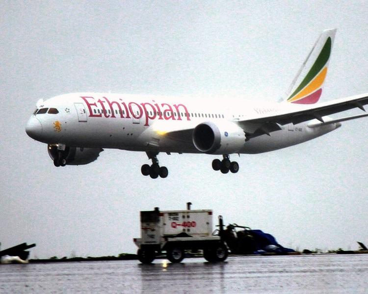 埃塞俄比亚航空有客机坠毁。