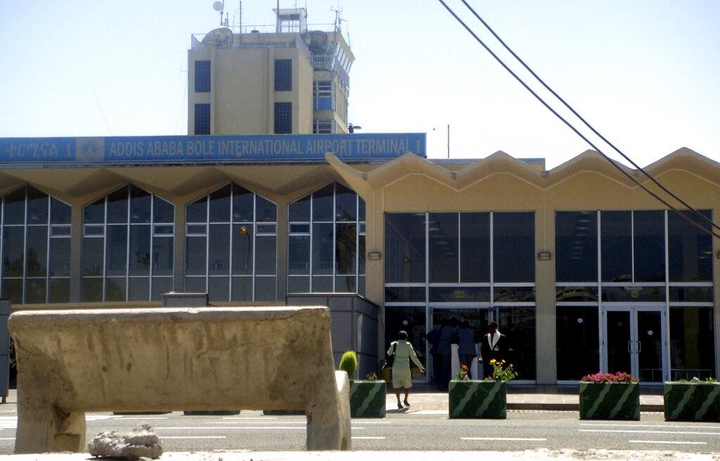 埃塞俄比亚首都亚的斯亚贝巴机场。AP图片
