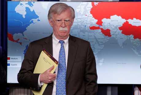 美国国家安全顾问波顿。资料图片