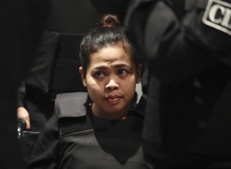 马来西亚检方突然宣布撤回对艾莎的指控。AP