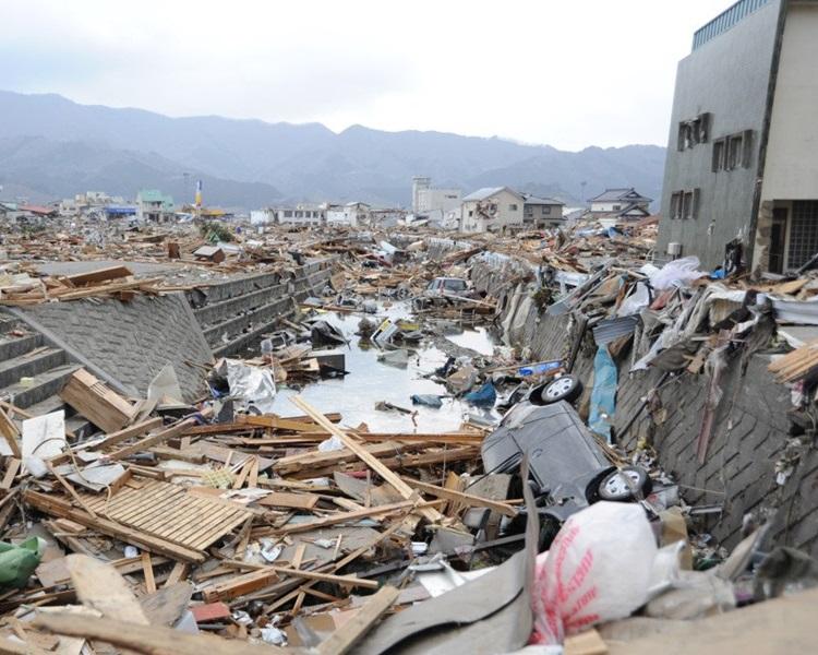 今日是「311」地震8周年。网图