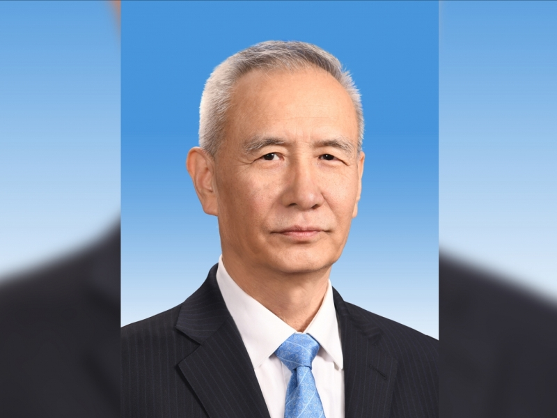 中国国务院副总理刘鹤应约与美国贸易代表莱特希泽及财长努钦通电话。