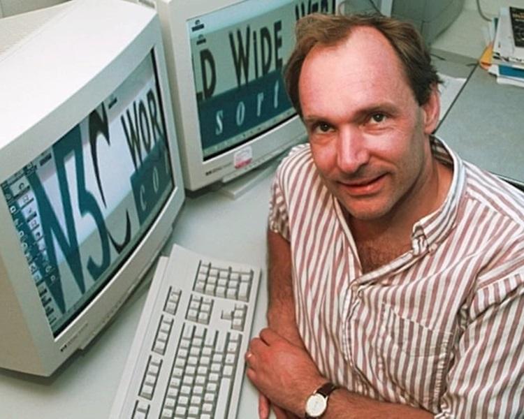 1988年的伯纳斯李。