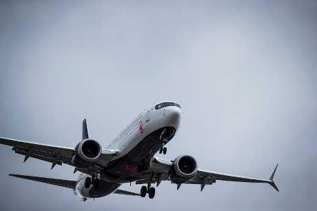 波音737 MAX 8客机。