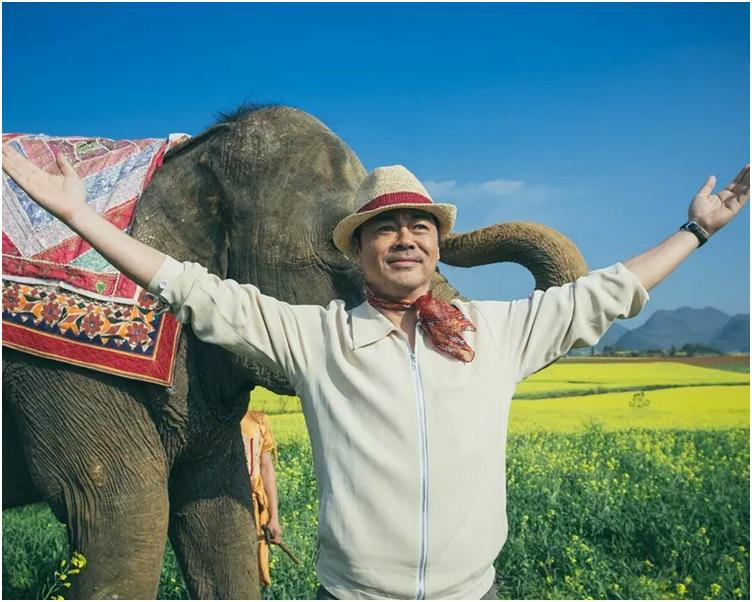 《我的寵物是大象》由劉青雲主演。網圖
