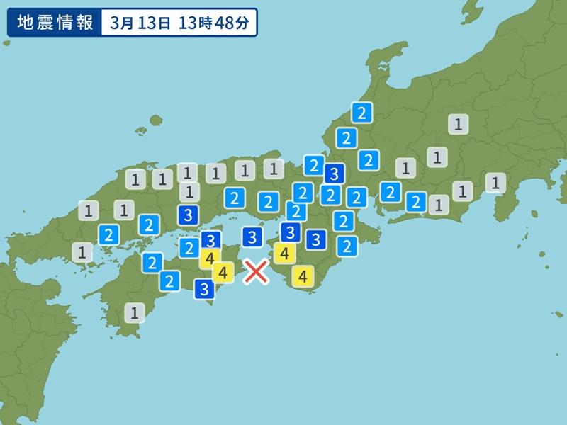 日本西部发生5.2级地震。