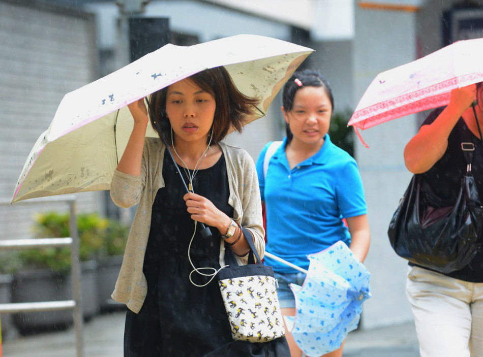 预测未来数天风势较大及有骤雨。资料图片